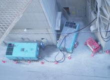 サイロ外での遠隔操作の写真